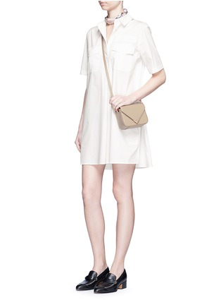 Figure View - Click To Enlarge - Equipment - 'Major' cotton poplin utility dress
