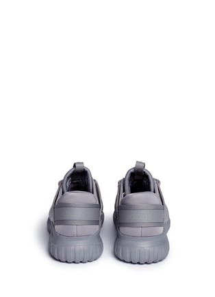 Back View - Click To Enlarge - Adidas - 'Tubular Nova Reflections' neoprene lizard effect sneaker