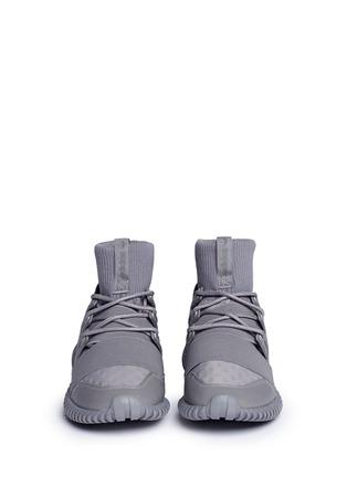Front View - Click To Enlarge - Adidas - 'Tubular Doom Reflections' neoprene lizard effect sock sneaker