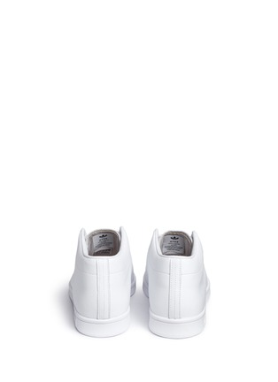 Back View - Click To Enlarge - Adidas - x HYKE 'AOH-001 HI' leather sneakers