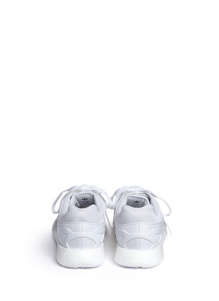 Back View - Click To Enlarge - Adidas - x HYKE 'AOH-007' cutout sneakers