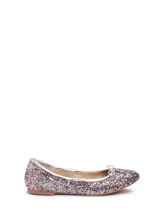 Main View - Click To Enlarge - Sam Edelman - 'Felicia' glitter ballet flats
