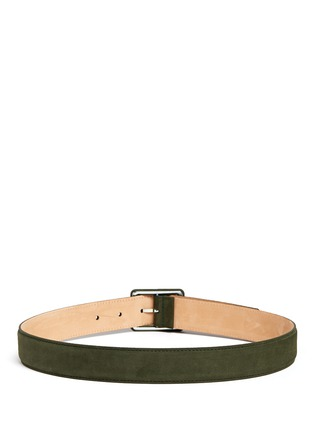 Back View - Click To Enlarge - Maison Boinet - Nubuck leather belt