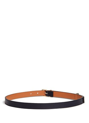 Back View - Click To Enlarge - Maison Boinet - Buckle loop leather belt