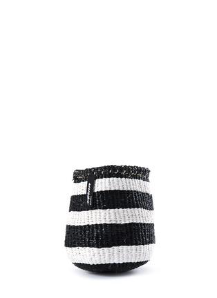 Main View - Click To Enlarge - Mifuko - Kiondo extra small stripe basket