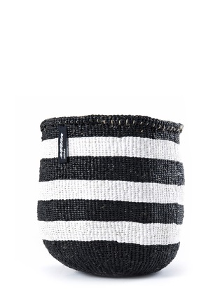 Main View - Click To Enlarge - Mifuko - Kiondo medium stripe basket