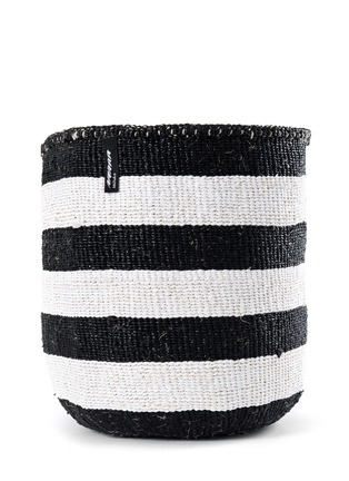 Main View - Click To Enlarge - Mifuko - Kiondo large stripe basket
