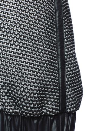 Detail View - Click To Enlarge - No Ka'Oi - 'Lune' crystal bead embellished knit halterneck top