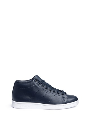 Main View - Click To Enlarge - ADIDAS - x HYKE 'AOH-001 HI' leather sneakers