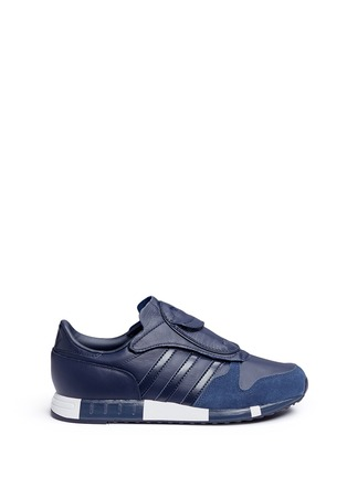 Main View - Click To Enlarge - Adidas - x HYKE 'AOH-006' leather sneakers