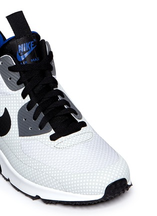 Detail View - Click To Enlarge - Nike - 'Air Max 90 Mid Winter' polka dot print sneakers