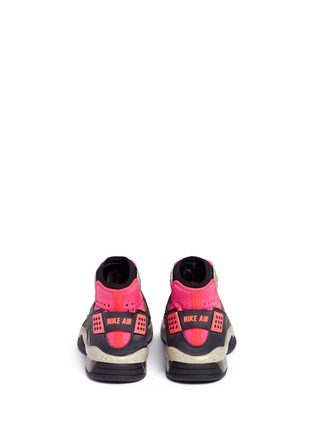 Back View - Click To Enlarge - Nike - 'Nike Air Mowabb OG' leather neoprene combo sneakers
