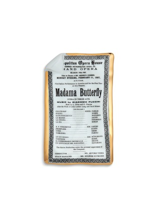 Main View - Click To Enlarge - FORNASETTI - Madama Butterfly Locandina large sheet ashtray