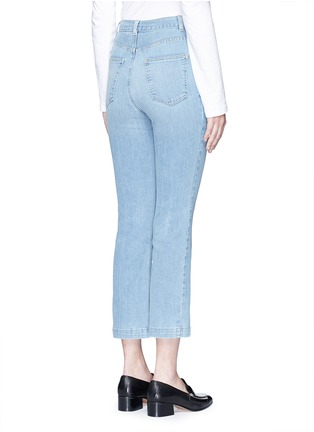 Back View - Click To Enlarge - Rachel Comey - 'Bismark' high rise cropped jeans