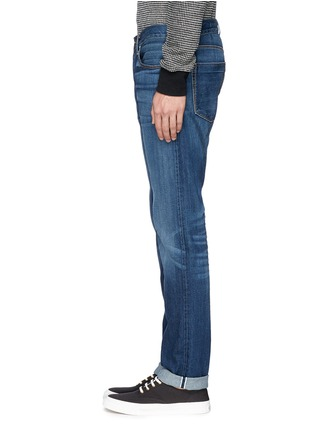 Detail View - Click To Enlarge - 3X1 - 'M5' selvedge denim slim jeans