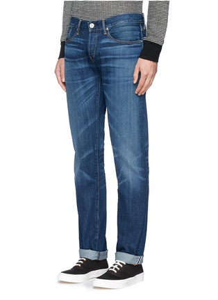 Front View - Click To Enlarge - 3X1 - 'M5' selvedge denim slim jeans