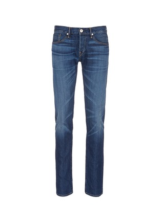 Main View - Click To Enlarge - 3X1 - 'M5' selvedge denim slim jeans