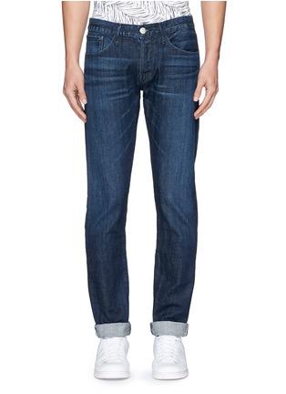 Detail View - Click To Enlarge - 3x1 - 'M5' selvedge denim slim jeans