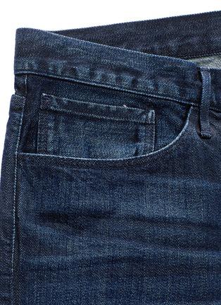 - 3x1 - 'M5' selvedge denim slim jeans