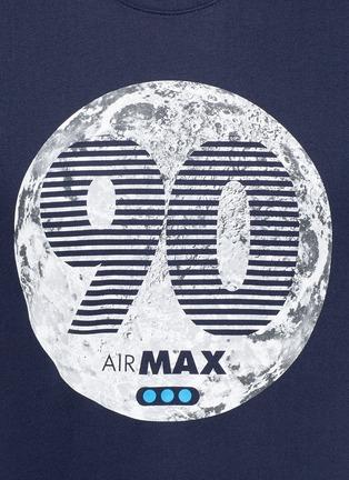 Detail View - Click To Enlarge - Nike - 'Air Max 90 Moon' print T-shirt