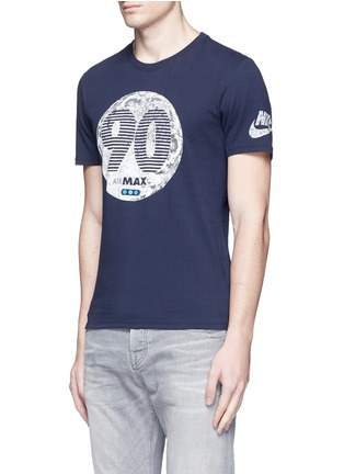 Front View - Click To Enlarge - NIKE - 'Air Max 90 Moon' print T-shirt