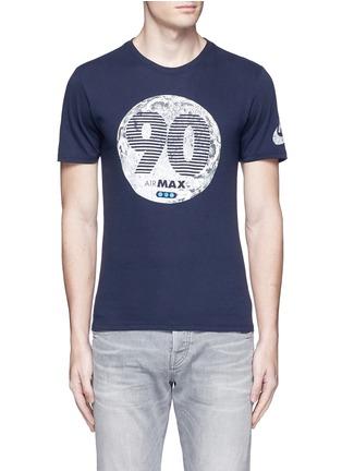 Main View - Click To Enlarge - Nike - 'Air Max 90 Moon' print T-shirt