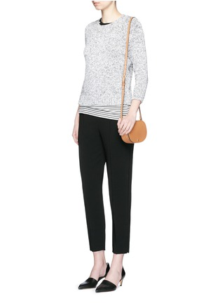 Figure View - Click To Enlarge - Theory - 'Braxmar' Admiral crepe pants