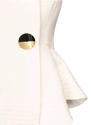 Detail View - Click To Enlarge - Roksanda - 'Sienna' peplum double crepe jacket