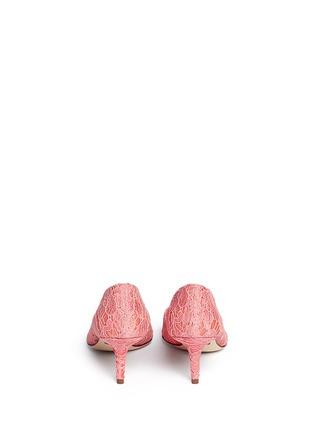 Back View - Click To Enlarge - - - 'Bellucci' jewel brooch Taormina lace pumps