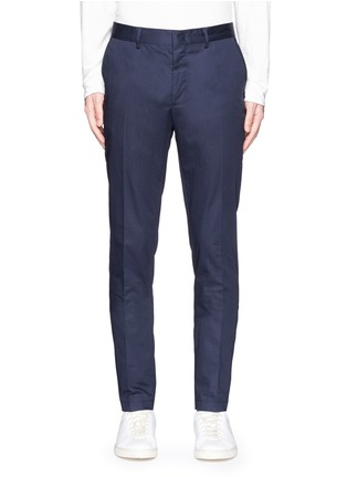 Main View - Click To Enlarge - Lanvin - Cotton gabardine chinos