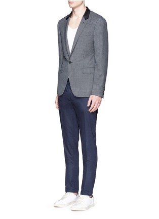 Figure View - Click To Enlarge - Lanvin - Cotton gabardine chinos