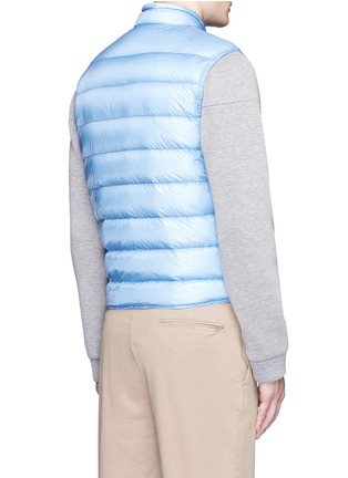 Back View - Click To Enlarge - Moncler - 'Gui' quilted down vest