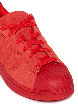 Detail View - Click To Enlarge - Adidas - 'Superstar' suede sneakers