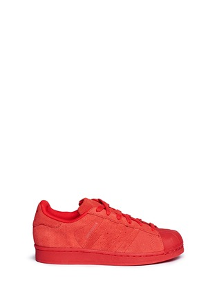 Main View - Click To Enlarge - Adidas - 'Superstar' suede sneakers