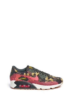 Main View - Click To Enlarge - Nike - 'Air Max 90 Premium Jacquard' camouflage sneakers