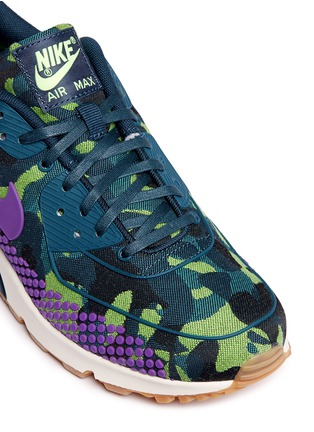 Detail View - Click To Enlarge - Nike - 'Air Max 90 Premium Jacquard' camouflage sneakers