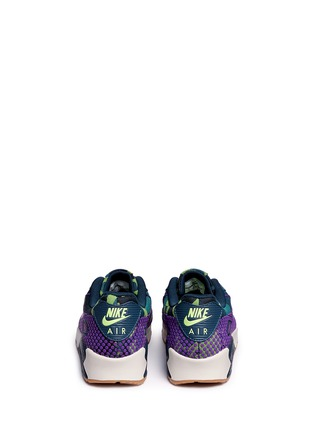 Back View - Click To Enlarge - Nike - 'Air Max 90 Premium Jacquard' camouflage sneakers