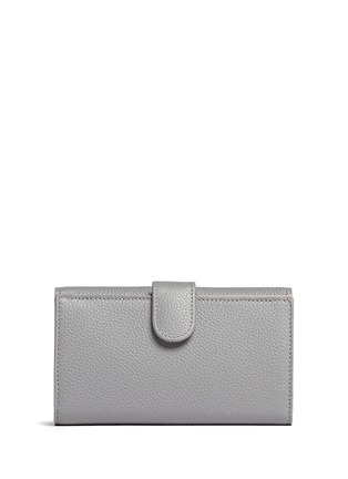 Back View - Click To Enlarge - Alexander McQueen - Skull leather continental wallet