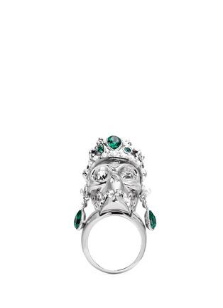 Main View - Click To Enlarge - Alexander McQueen - Royal skull ring