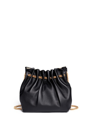 Back View - Click To Enlarge - Stella McCartney - 'Noma' curb chain eco leather bucket bag