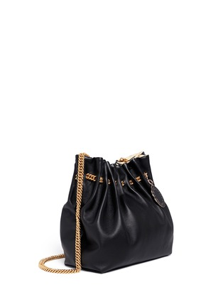 Figure View - Click To Enlarge - Stella McCartney - 'Noma' curb chain eco leather bucket bag