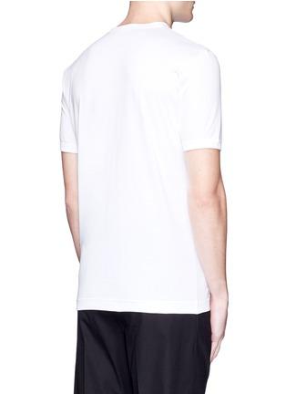 Back View - Click To Enlarge - Dolce & Gabbana - Sicilian cowboy appliqué T-shirt