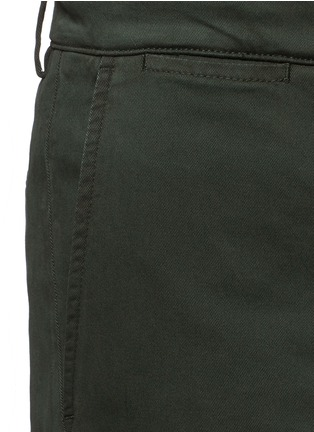 Detail View - Click To Enlarge - Dolce & Gabbana - Stretch twill military shorts