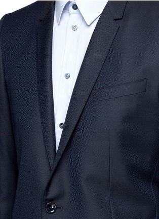 Detail View - Click To Enlarge - Dolce & Gabbana - 'Gold' slim fit wool jacquard suit