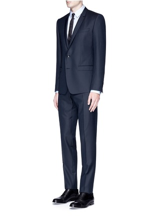 Figure View - Click To Enlarge - Dolce & Gabbana - 'Gold' slim fit wool jacquard suit