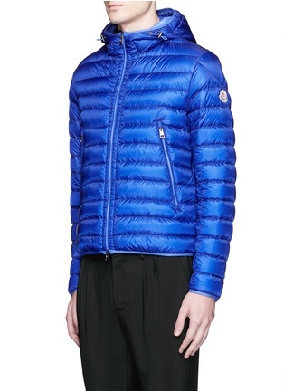 Front View - Click To Enlarge - Moncler - 'Mir' quilted down hood jacket