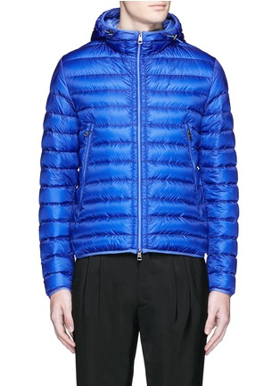 Main View - Click To Enlarge - Moncler - 'Mir' quilted down hood jacket
