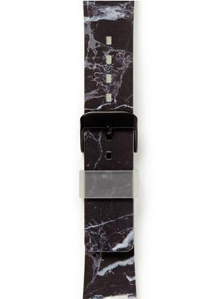 Detail View - Click To Enlarge - Casetify - Black marble print 38mm Apple Watch bracelet