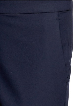 Detail View - Click To Enlarge - THEORY - 'Thaniel' elastic waist twill pants