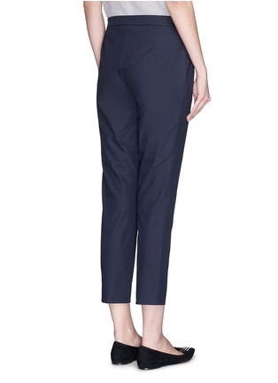 Back View - Click To Enlarge - THEORY - 'Thaniel' elastic waist twill pants